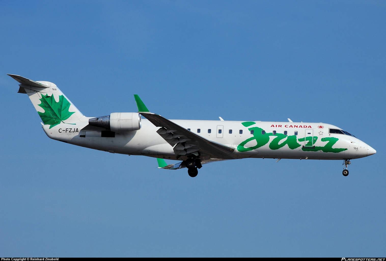 Jazz Air CRJ-200 performs flaps up landing at Montréal