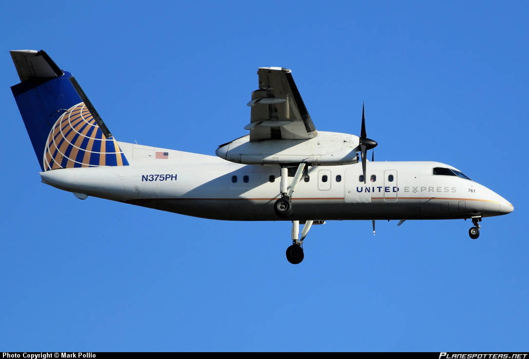 United Express (Operated by CommutAir) DHC-8-202Q shuts engine down inflight