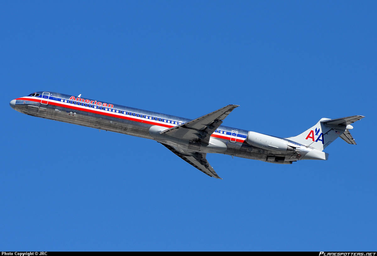 American Airlines MD-82 has tail compartement overtemp.