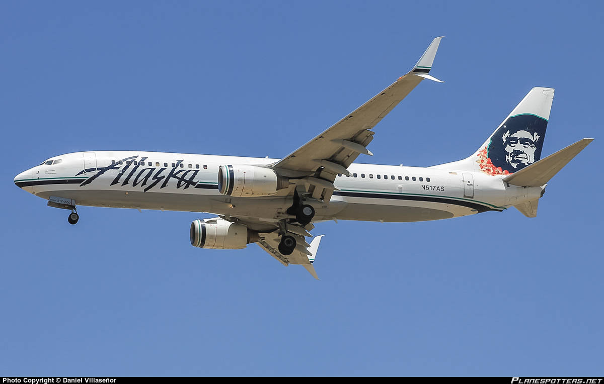 Alaska Airlines Boeing 737-800(WL) diverts to Honolulu because of brake issue
