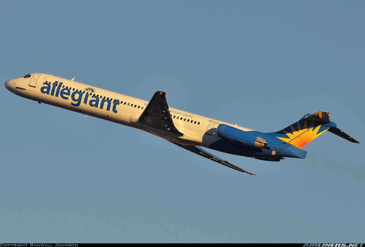 Allegiant MD-83 diverts to Jacksonville Intl because of strange odour in cabin