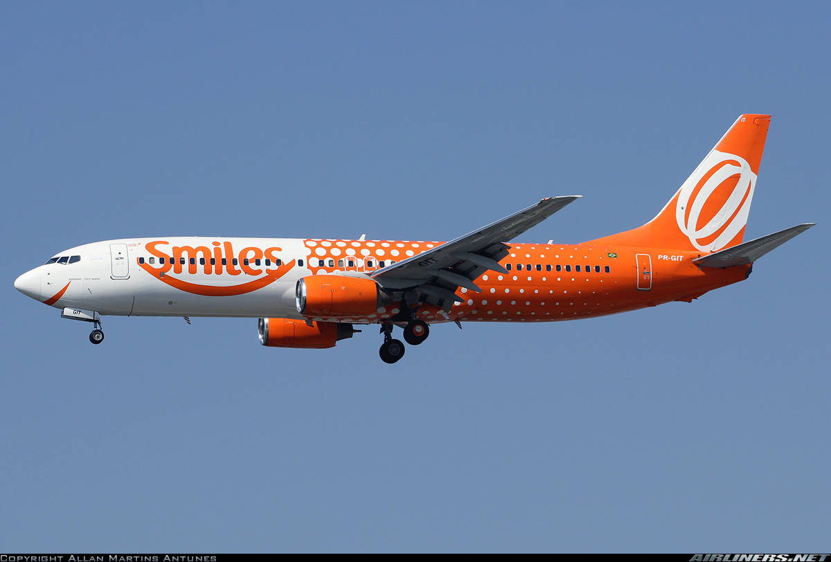 GOL Transportes Aéreos Boeing 737-809 rejects take-off because of engine problem