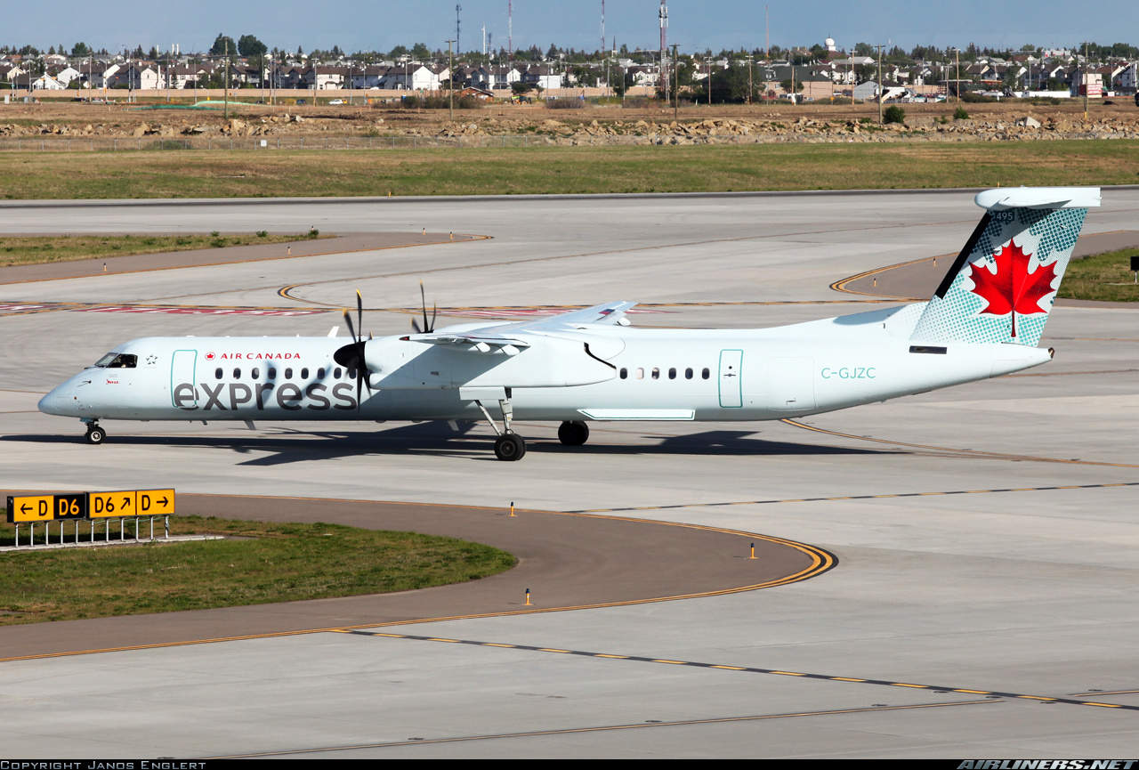 Air Canada Express (operated by Jazz Air) DHC-8-402Q divert to Vancouver because of unsafe gears