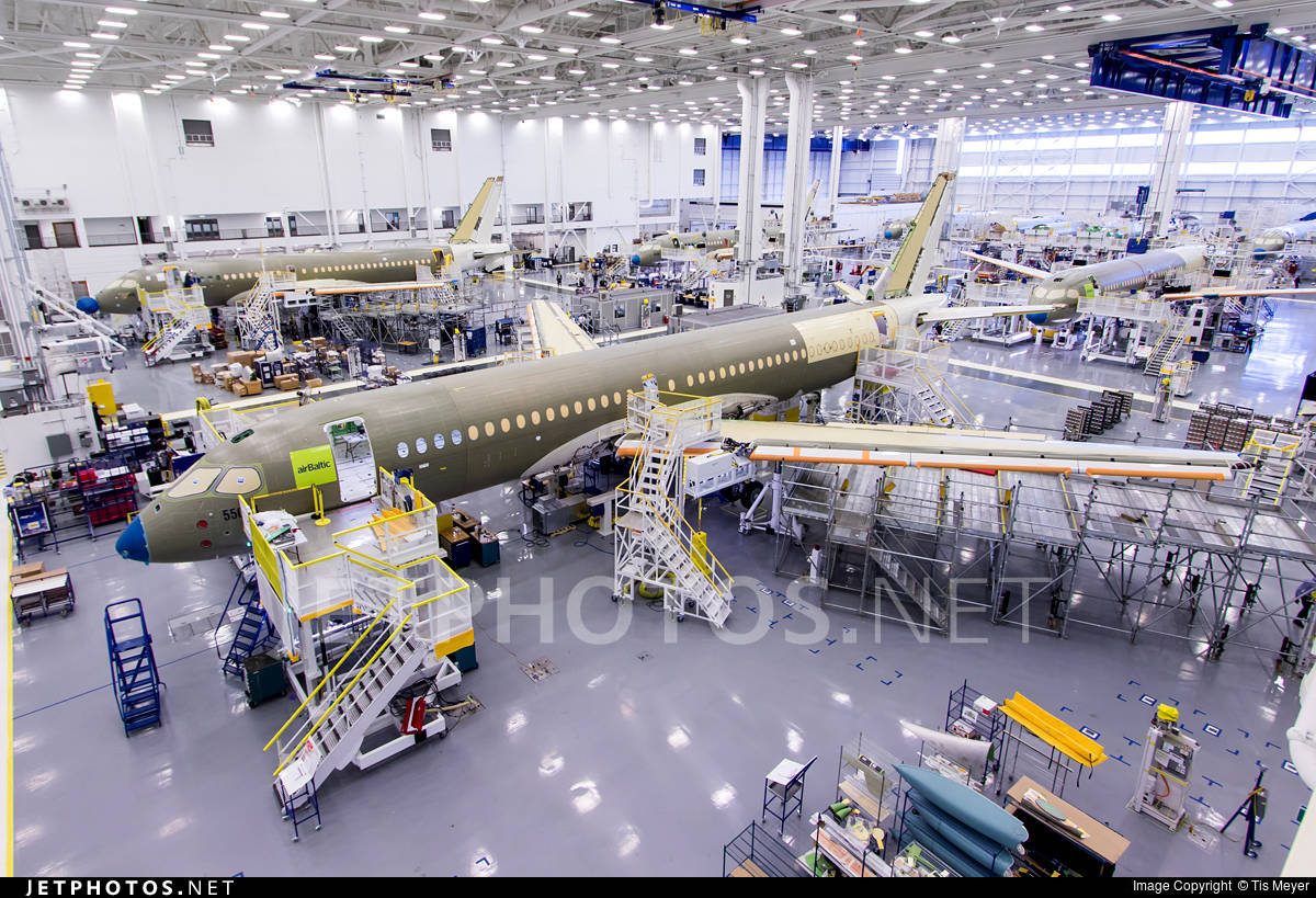 Transport Canada certifies Bombardier CS300