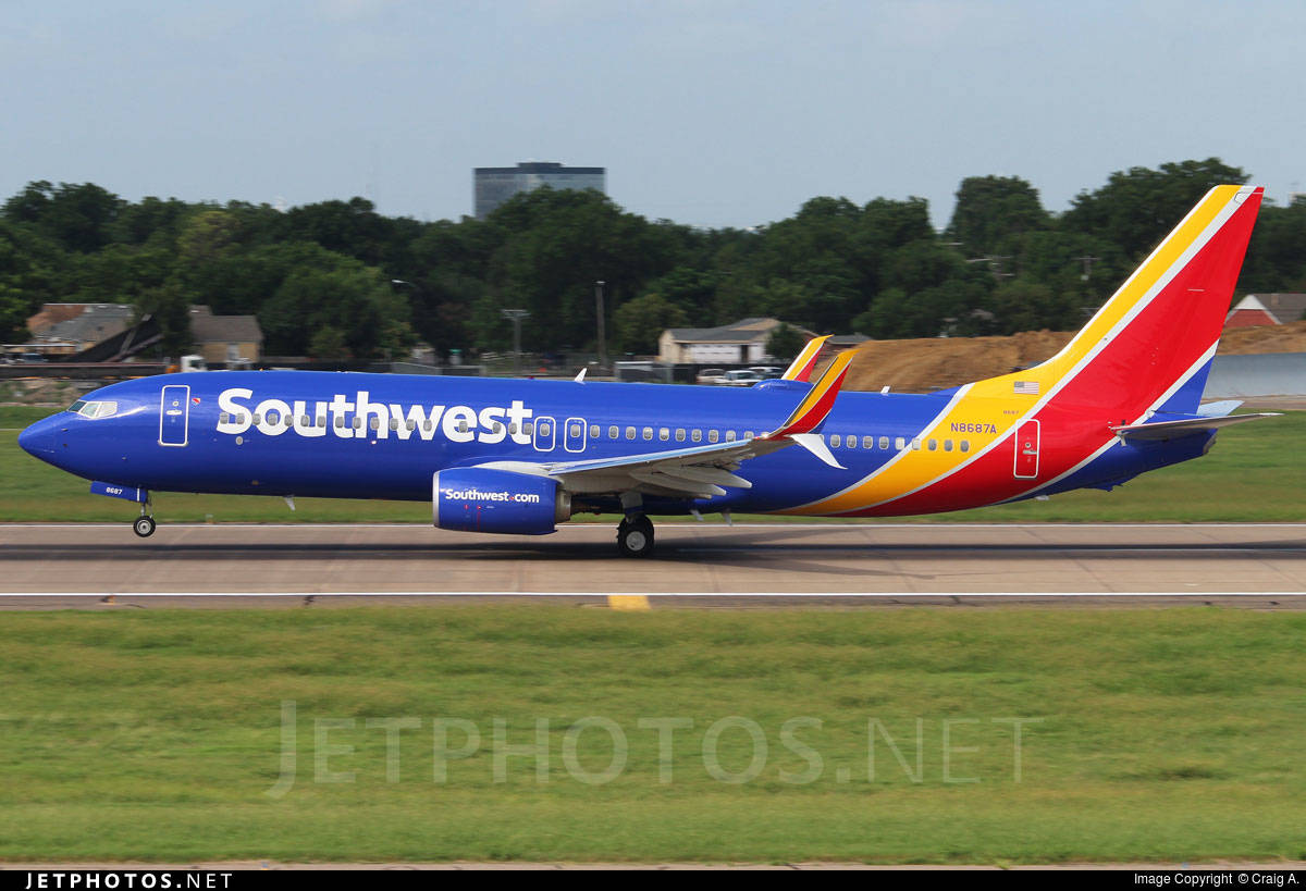 Southwest Airlines shares has a median target of $55.5