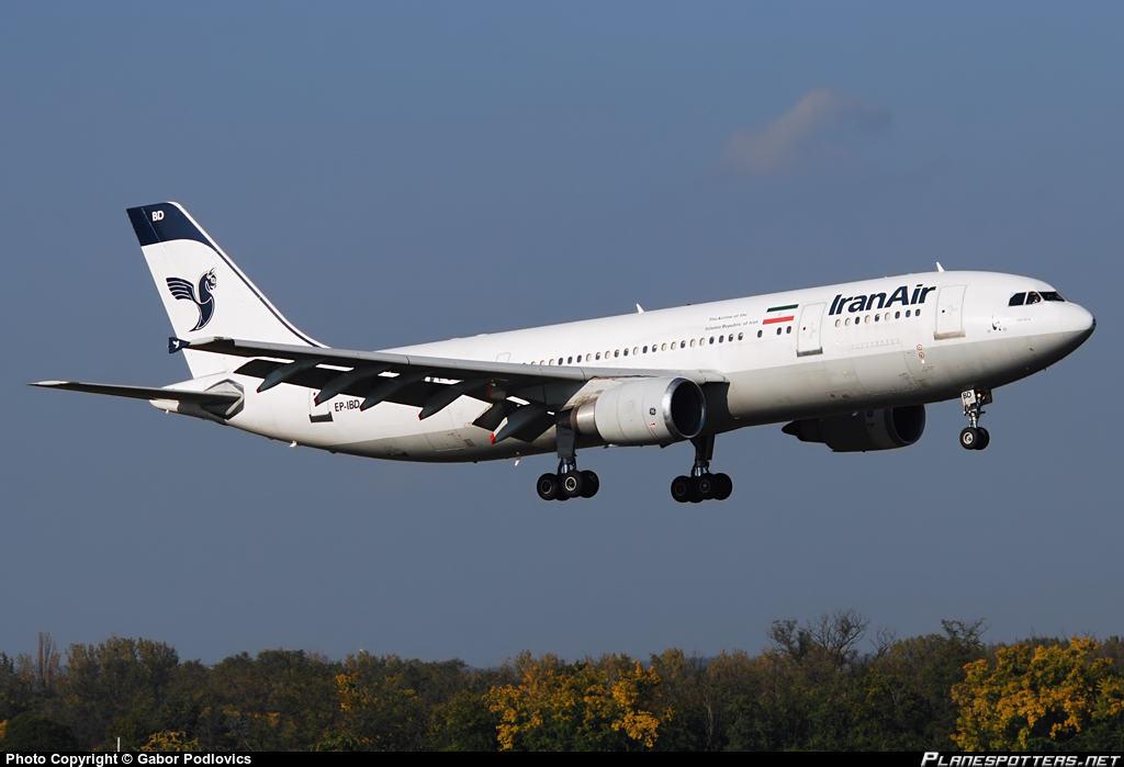 Iran Air A300B4-605R has generator failure