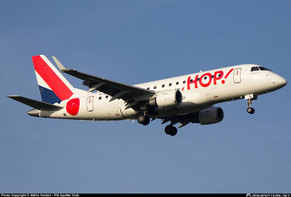 Captain suffers heart attack onboard  a HOP! For Air France (operated by Régional) E-170LR