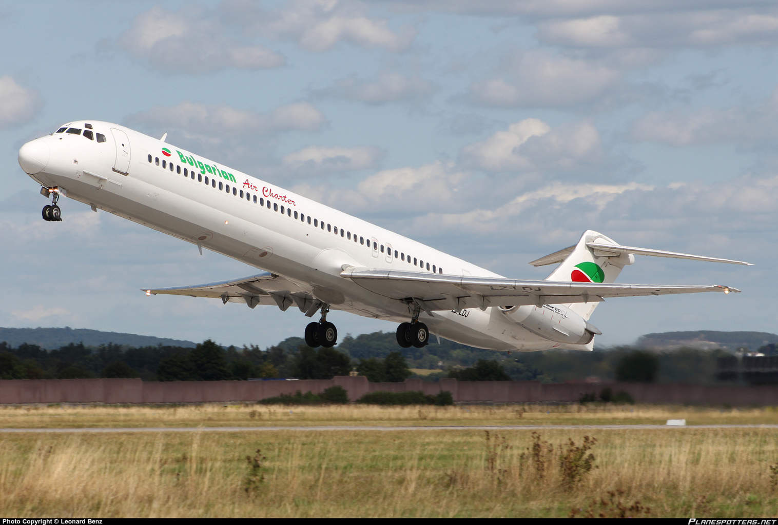 Bulgarian Air Charter MD-82 shuts engine down inflight