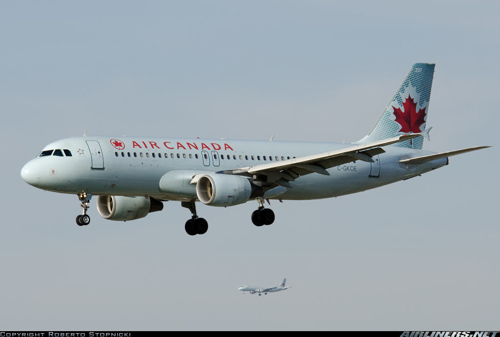 Air Canada Airbus A320-214 diverts to Lethbridge because of severe weather