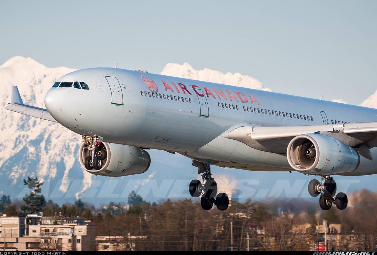 Passenger of Air Canada flight arrested because of an alleged sexual assault