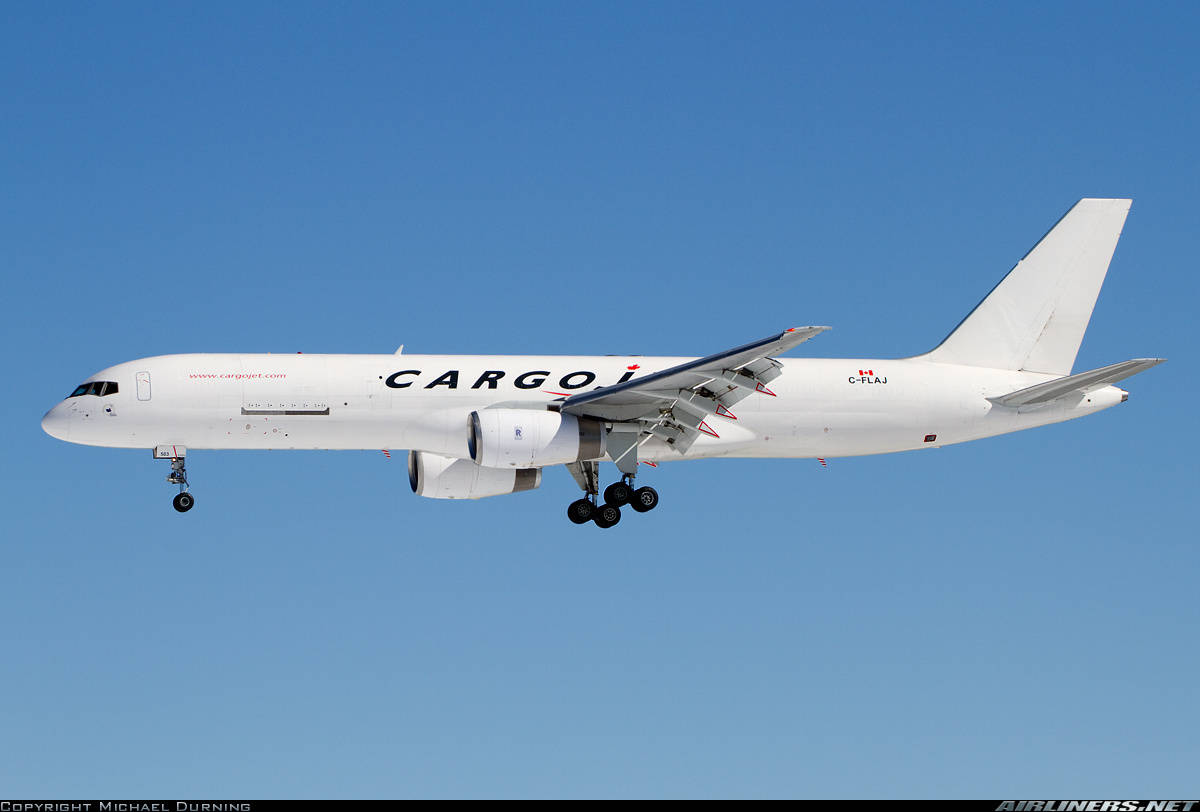 Cargojet Boeing 757-23A(PCF) loses cabin pressure