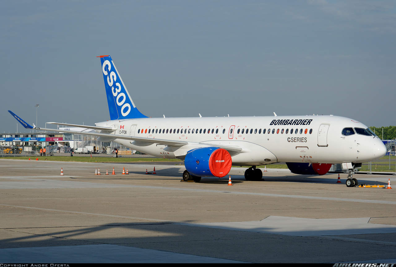 Ilyushin Finance Co downsizes CSeries order