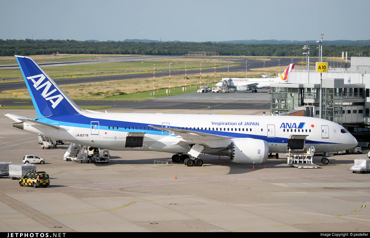 ANA – All Nippon Airways the worlds largest Dreamliner operators cancels some 787 flights over engine problems