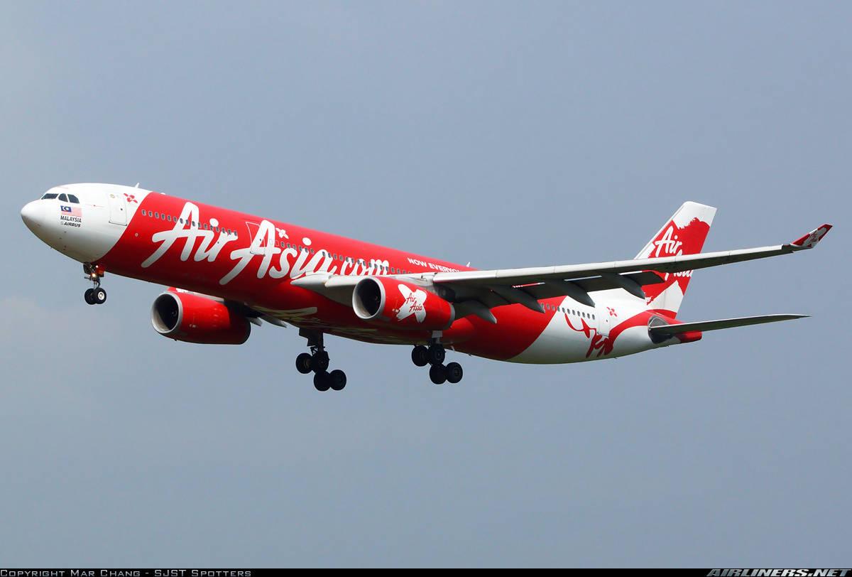 AirAsia X Airbus A330-343 has inflight engine shut down