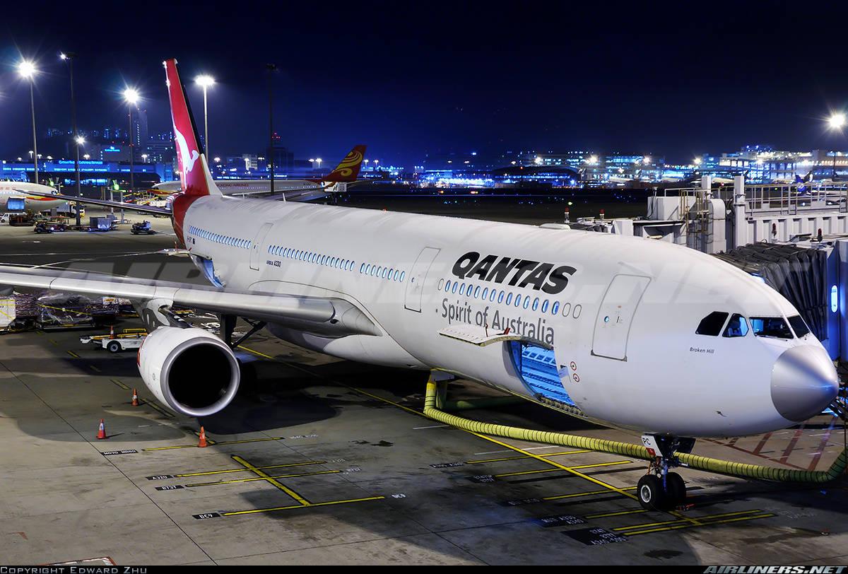 Qantas dispatches Airbus A330-303 with non compliant MEL