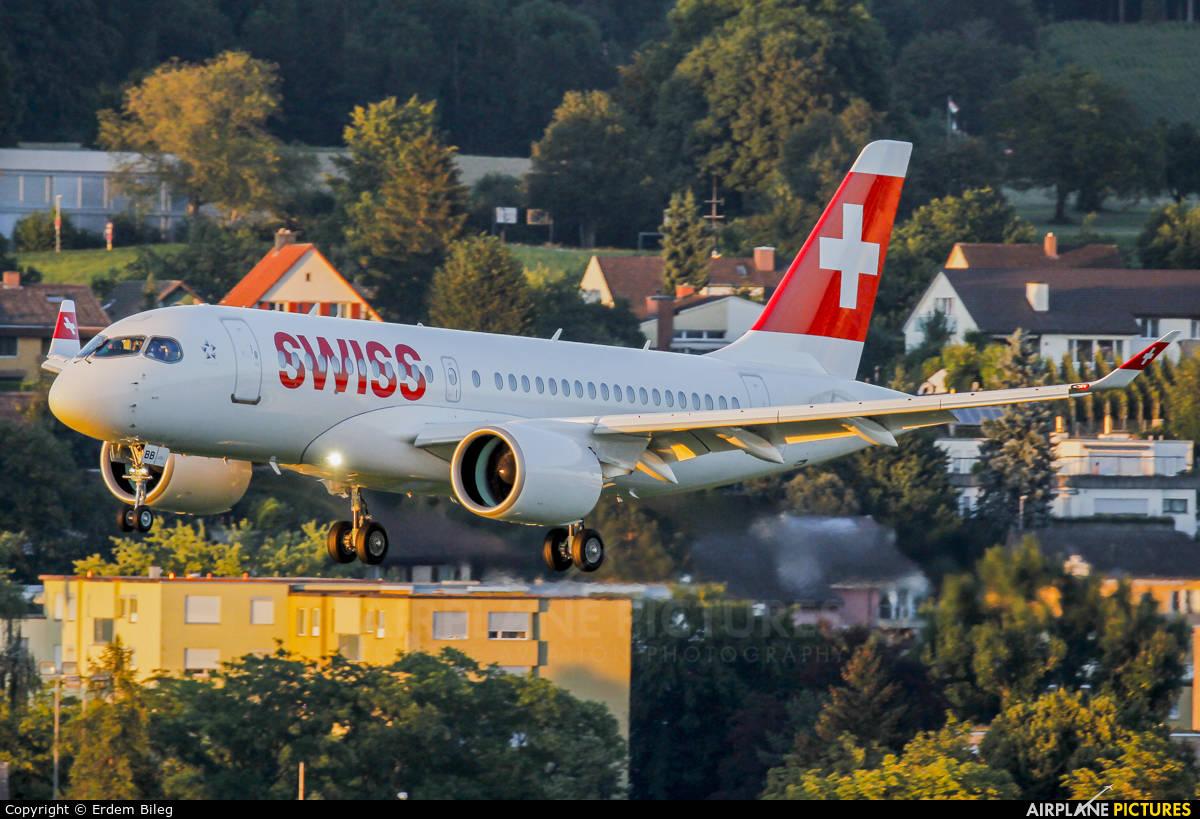 Bombardier CSeries satisfies launch customer Swiss International Air Lines