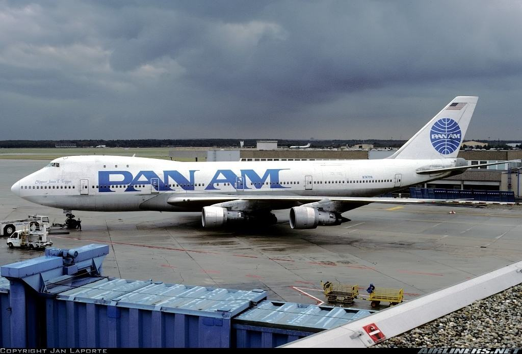 What happened to the first commercial 747?