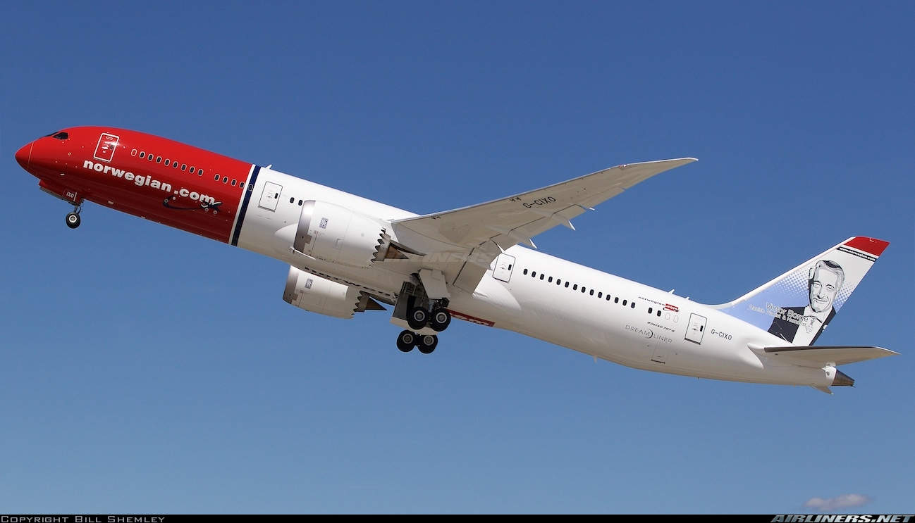 Norwegian Longhaul Carried 3m Passengers Since Its Creation In 2013