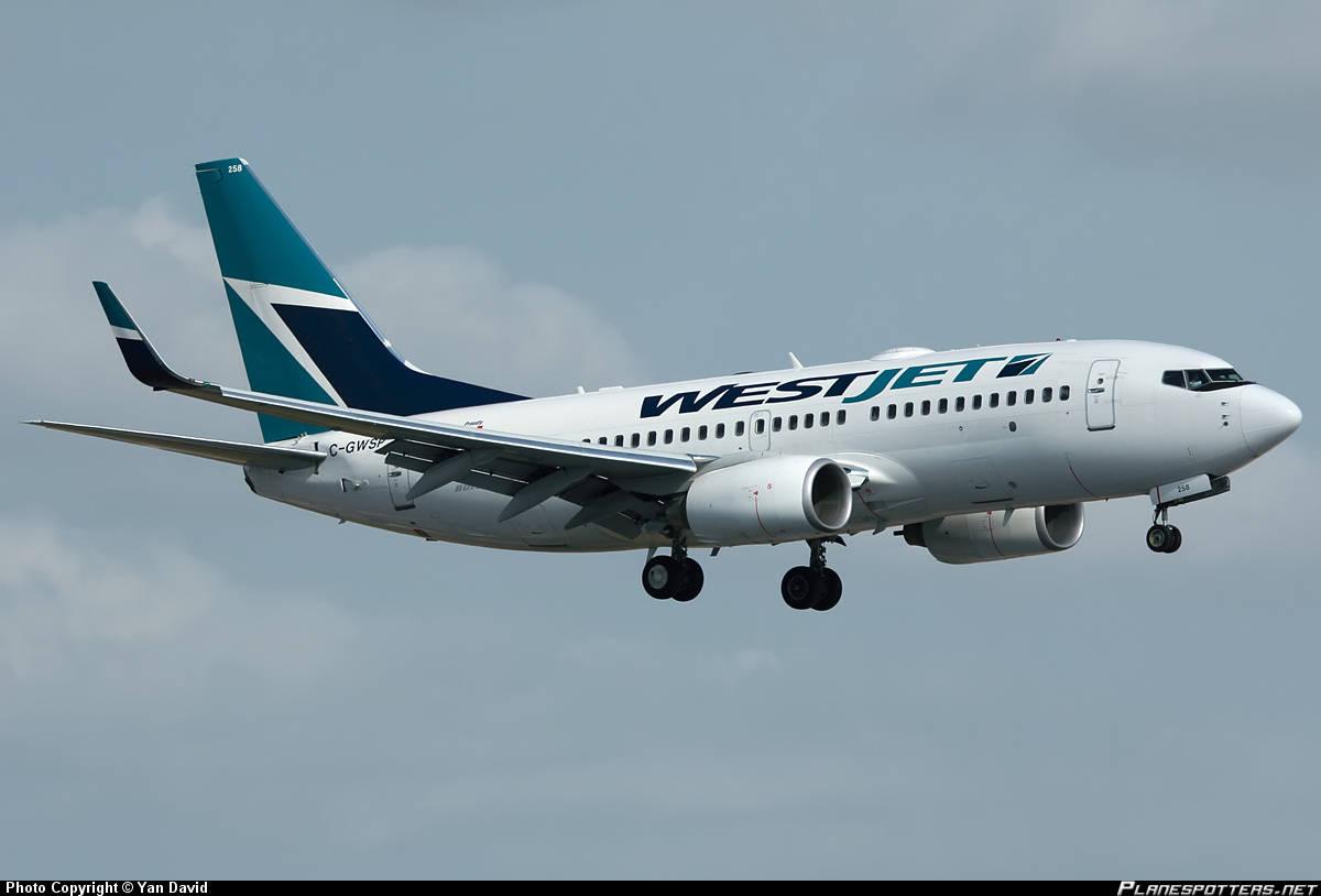Passenger from Edmonton charged for disturbing a WestJet flight