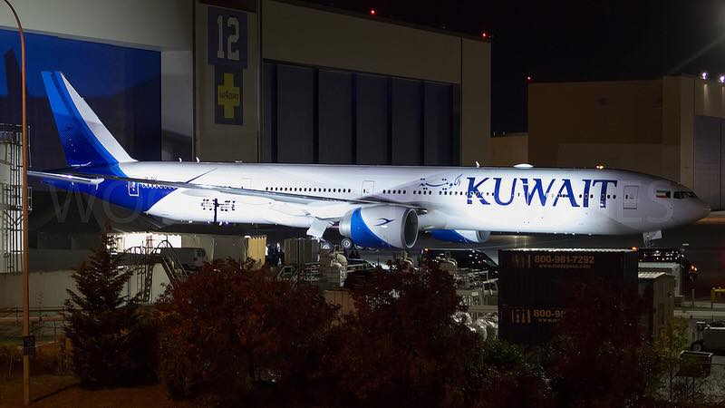 Kuwait Airways reveals new livery with first 777-300(ER)