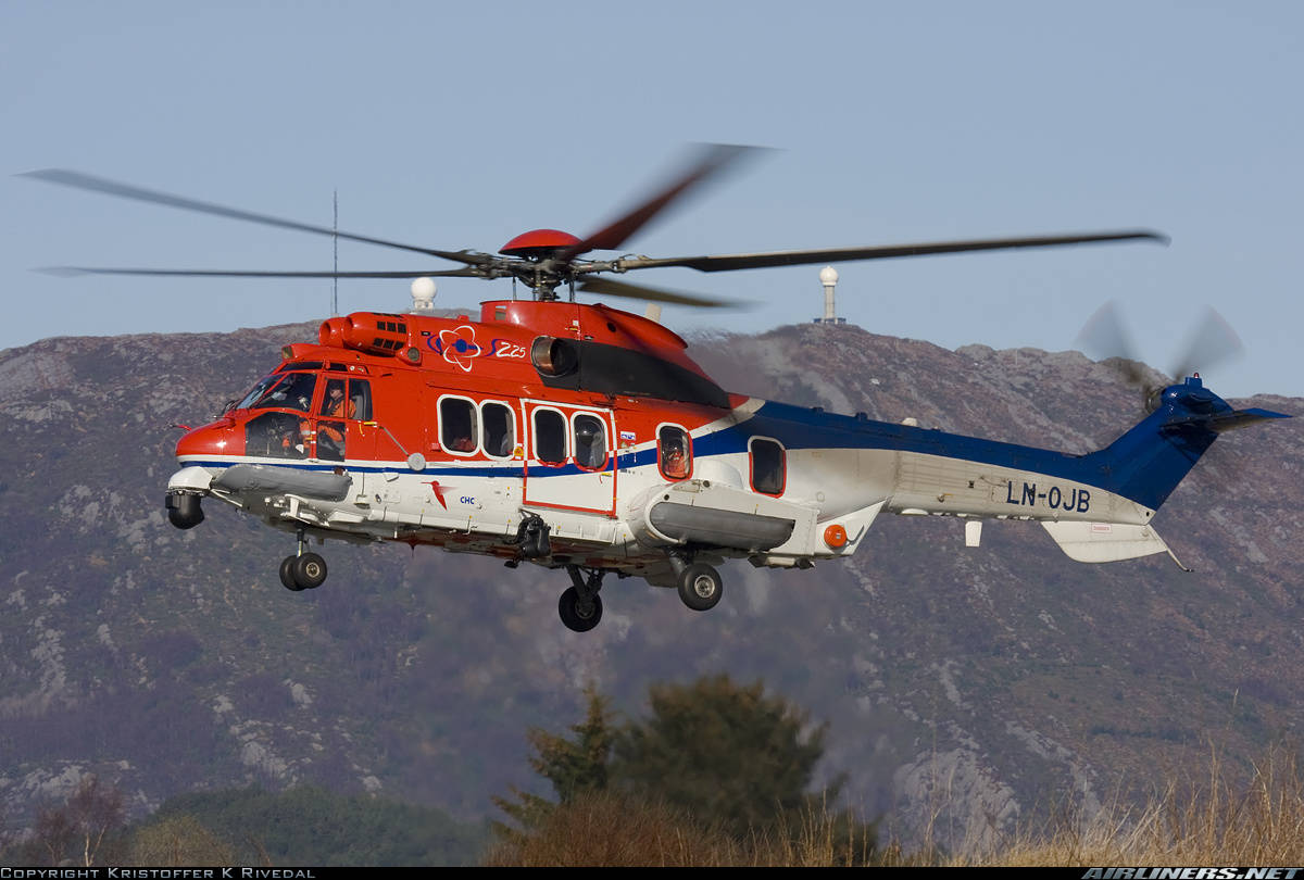 Super Puma remains grounded in Norway