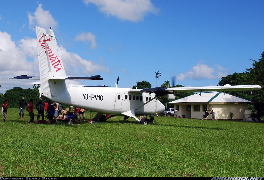Elevator cable of Air Vanuatu Twin Otter snaps