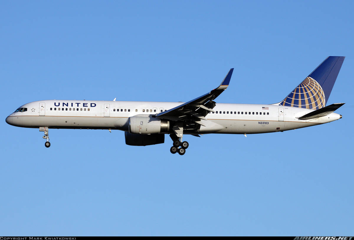 United Airlines retrofits part of its Boeing 757-200 fleet with blended scimitar winglets