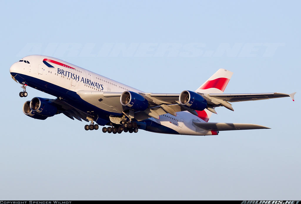 Airbus A380-841 of British Airways diverts to Vancouver because of smoke in cabin