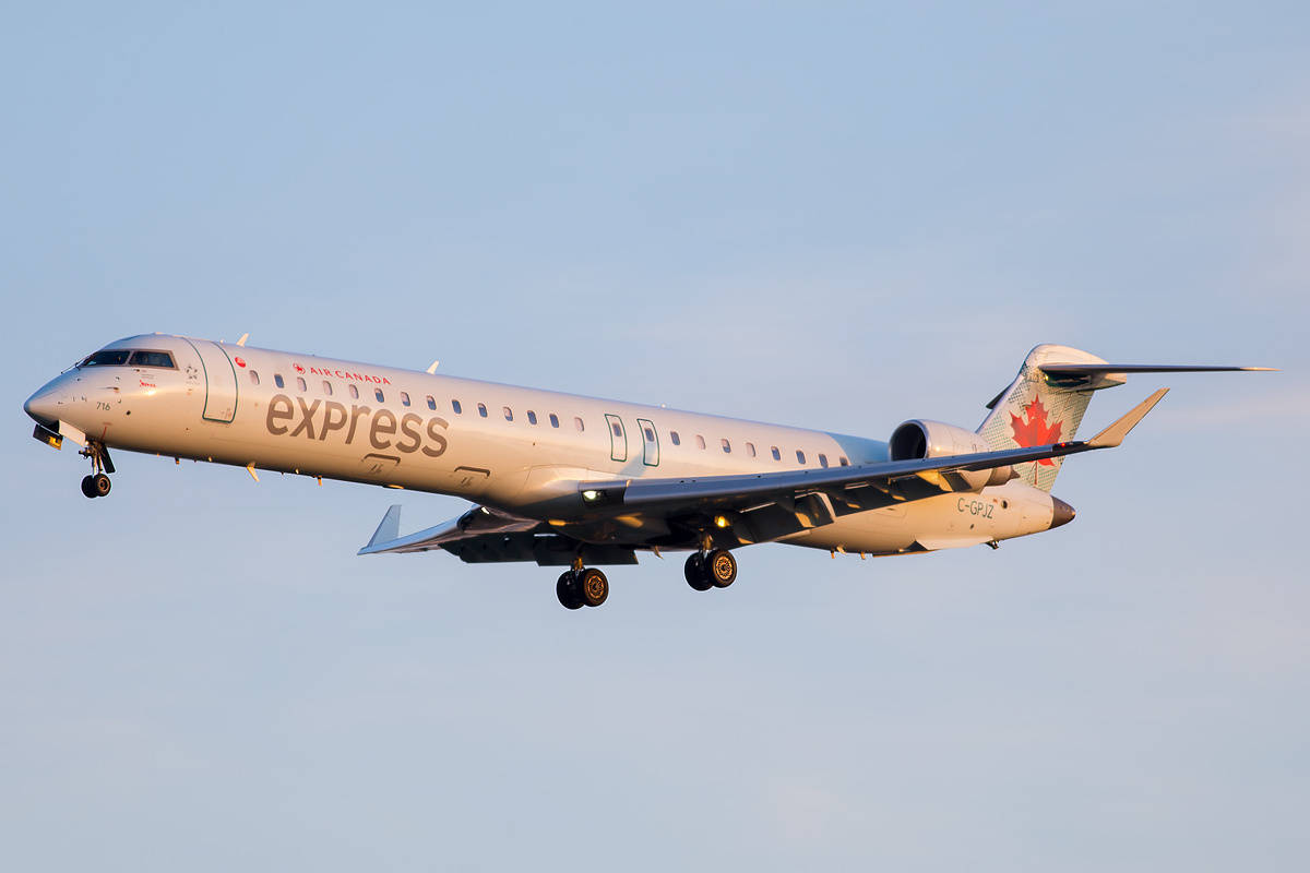 Air Canada Express orders more CRJ-900s and converts CRJ-705 fleet to CRJ-900s