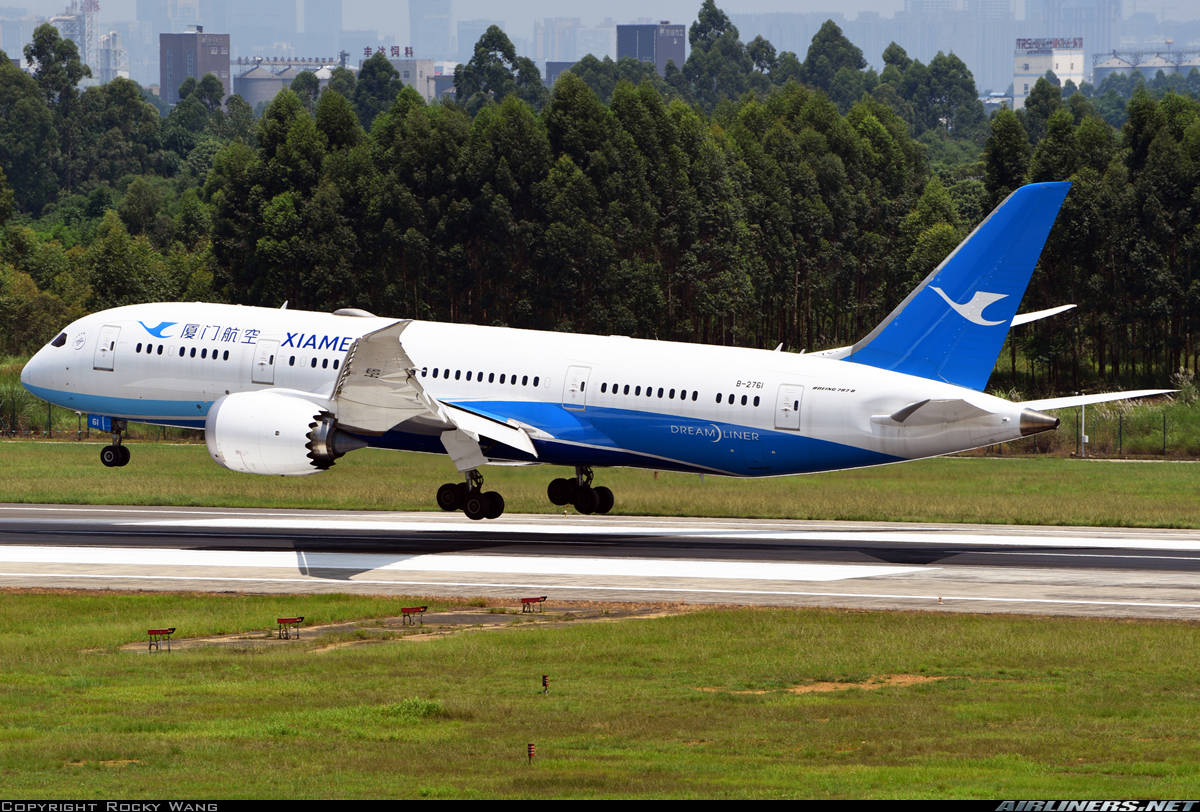 Xiamen Airlines debuts US ops.