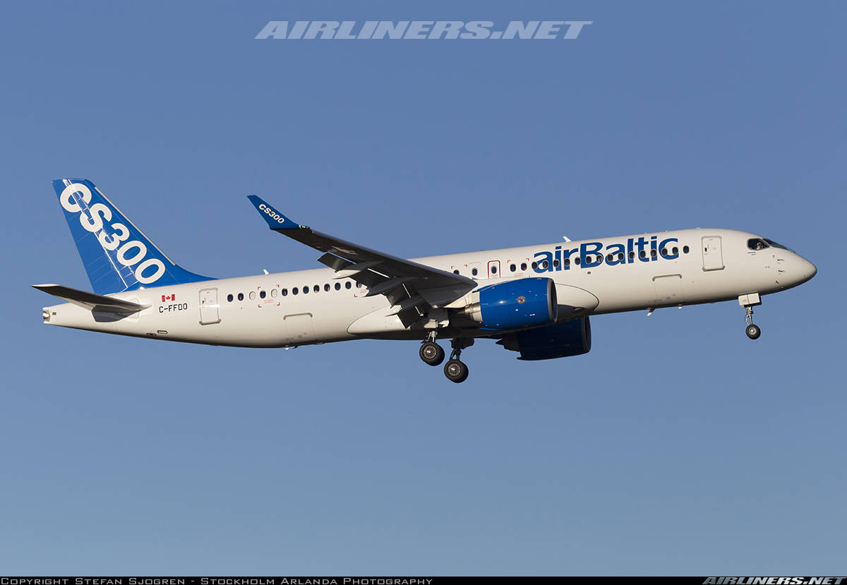 airBaltic gets ready for CS300 EIS