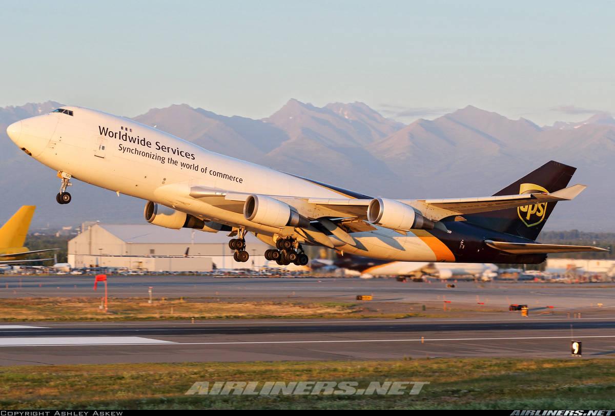 UPS orders 14x Boeing 747-8F