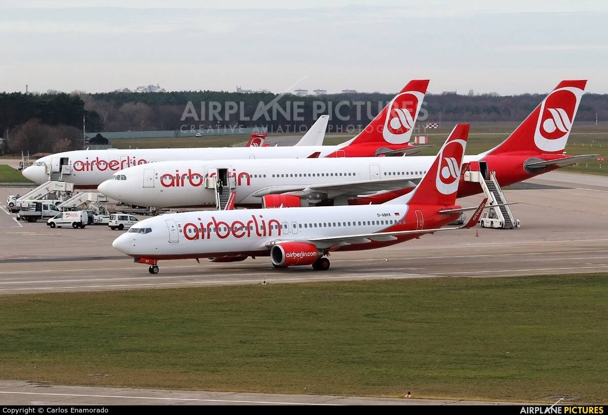 TUI/Etihad entity could get planes from Air Berlin