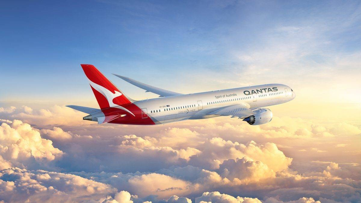 Qantas modefies livery for the fifth time since its introduction in 1944