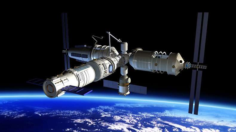 China sends two astronauts to Tiangong 2