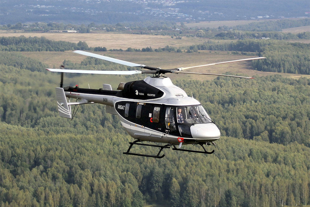 Russia signs first foreign Ansat Light Helicopter deal with China