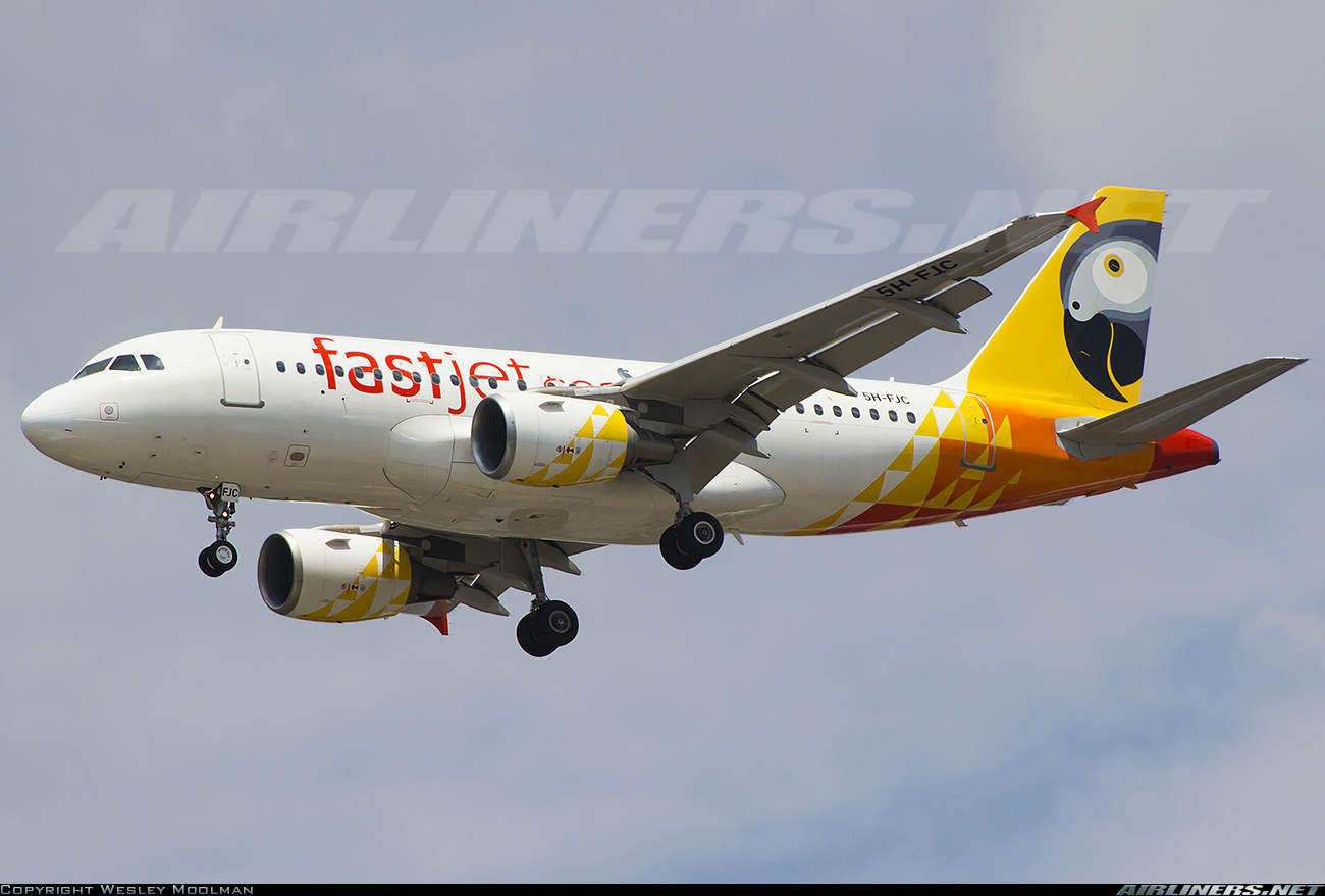 FastJet moves HQ to South Africa and replaces Airbus fleet with Embraer