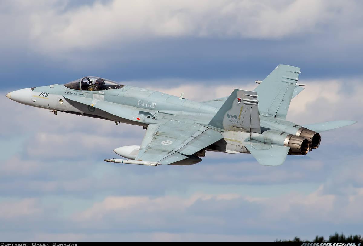 R.C.A.F. pilot dies when his CF-18 goes down near Cold Lake, Alberta
