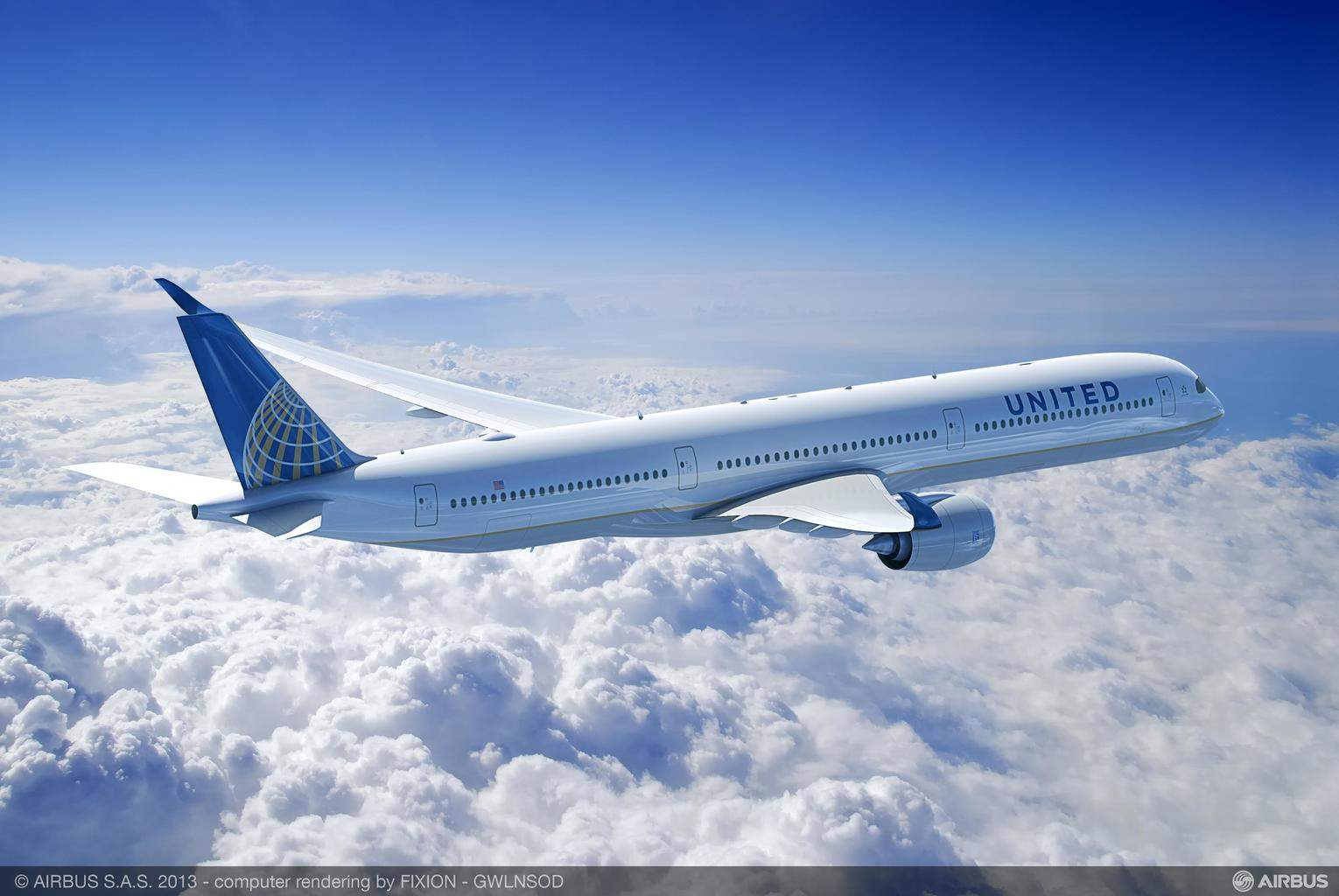 United Airlines looking into changing Airbus A350-1000XWB order into an Airbus A330 and/or Airbus A350-900XWB one
