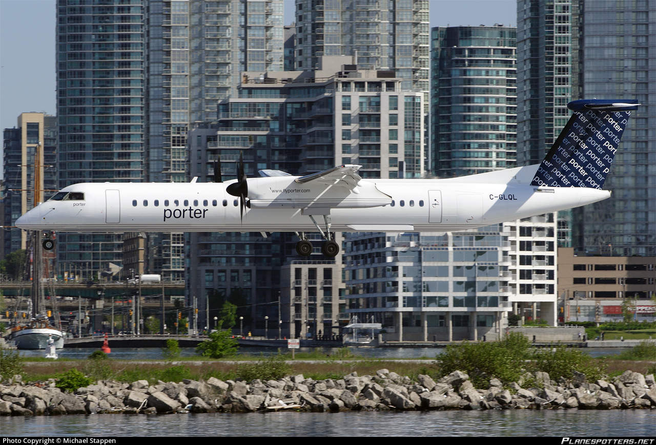 Near miss between drone and Porter Q400 injures two at Toronto Billy Bishop Airport