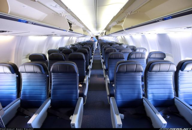 Overhead bins space use to be charged on United Airlines flights