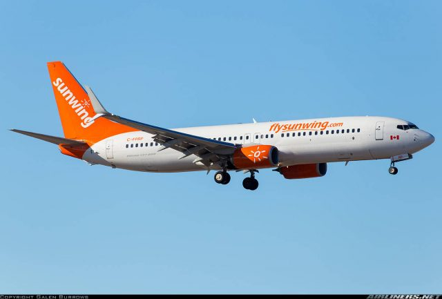 Unconscious Sunwing pilot arrested at Calgary Intl for being under the influence of alcohol