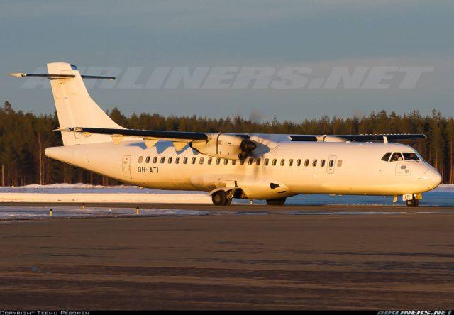 ATR-72-500 of N°RRA shuts down engine inflight