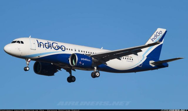 Indira Gandhi Intl is the airport with most Airbus A320 movement in the world