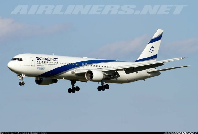 El-Al Israel Airlines flight 30 returns to Pearson Intl because of engine fire