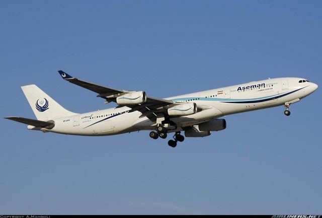 Iran Aseman Airlines plans to lease seven Airbus planes