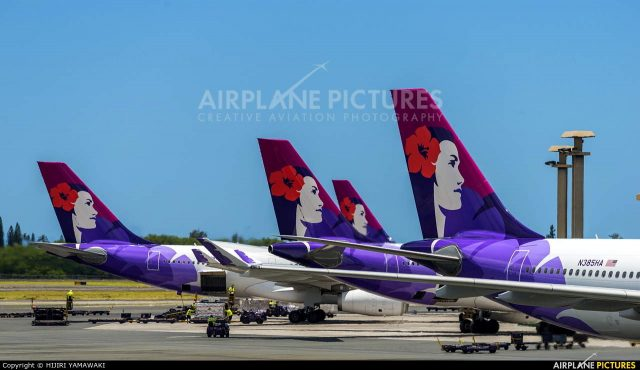 Last 767 to leave Hawaiian Airlines in 2018