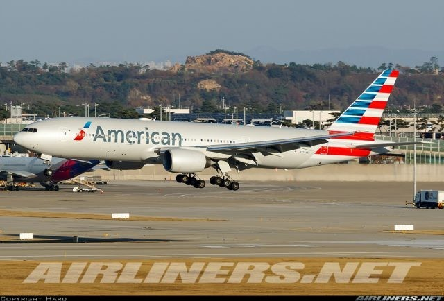 $434 000 worth of Cocaine found in the nose gear of an American Airlines airplane