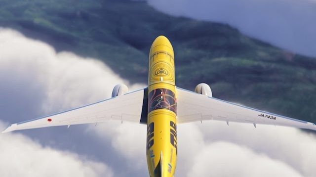 ANA All Nippon Airways adds 4th Star Wars themed plane