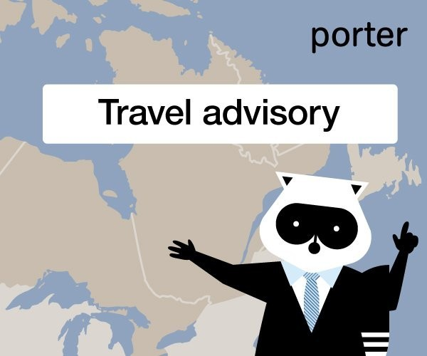 System outage grounds ALL Porter Airlines flights